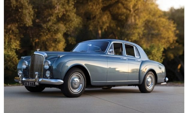 Bentley S1 – The Strong-Selling Straight-Six Bentley
