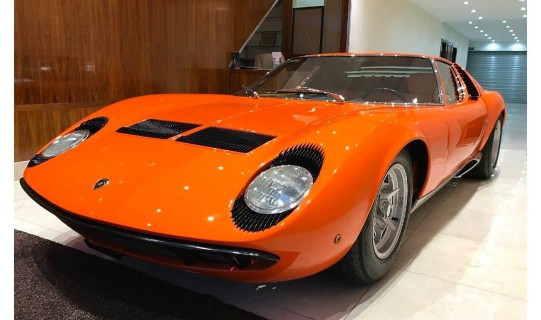 Friday Drool – One Super Vivacious 1967 Lamborghini Miura