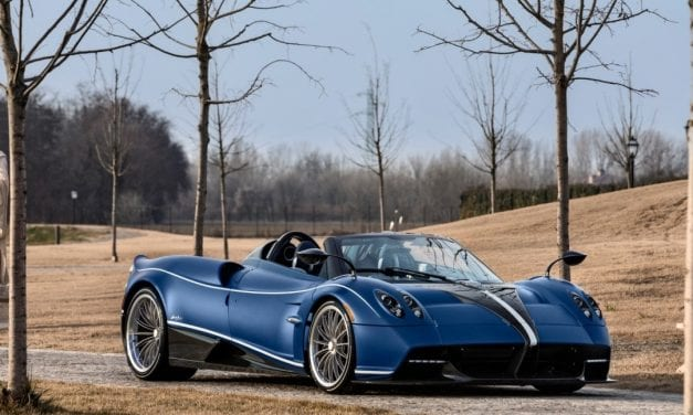 Pagani Celebrates 20 Years of the Zonda