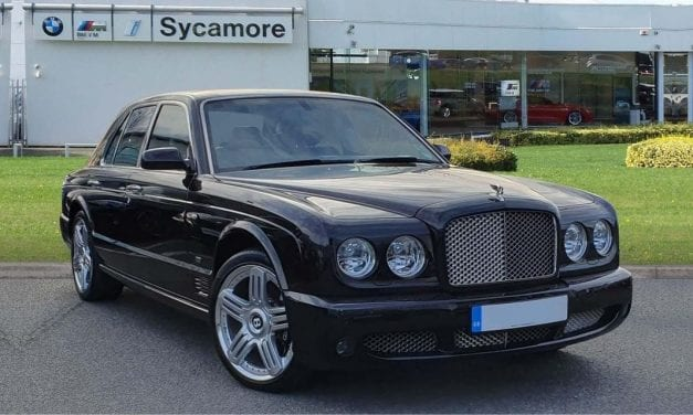 Friday Drool – The Final Bentley Arnage Ever Built