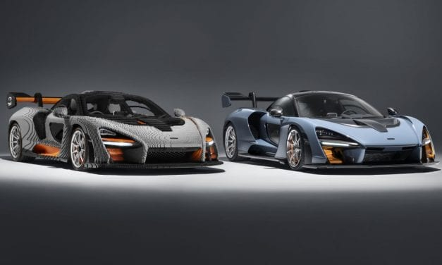 Full Size Lego McLaren Senna – Heavier Than the Real Thing!