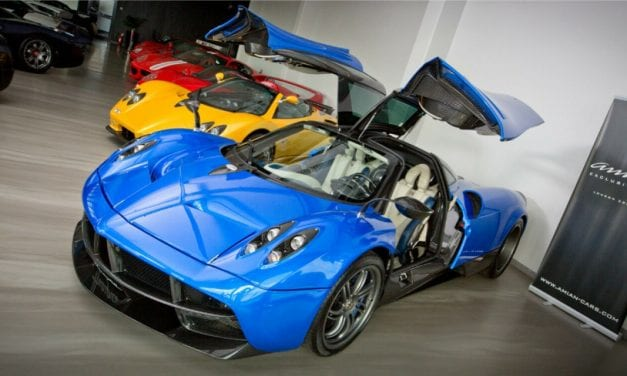 Friday Drool – Get All Tangled Up with this Blue Pagani