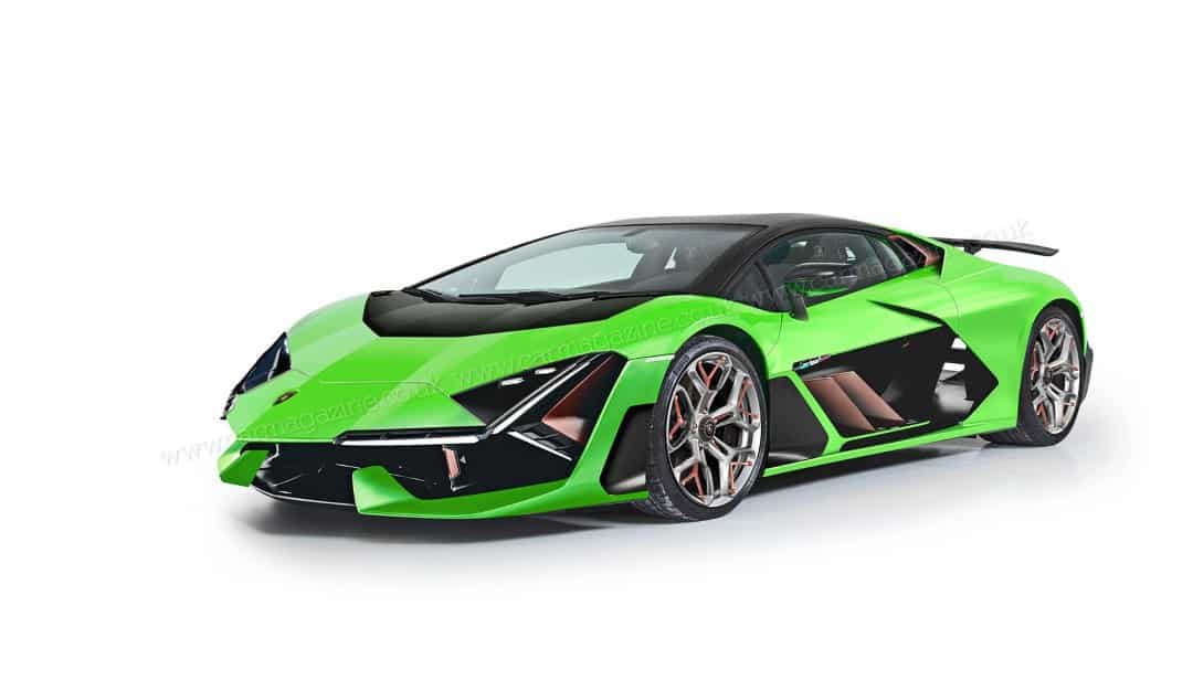 Hybrid 2022 Lamborghini Aventador for 2022 is as Wild as Ever!
