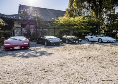 Lamborghini Out in Force at Kyoto 0013