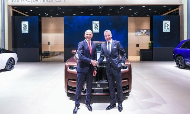 Rolls-Royce Celebrating Sales Success at Shanghai Motor Show