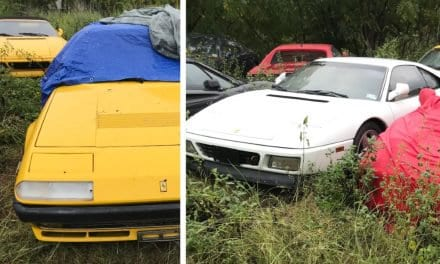 A Sad Tale of Abandoned Ferraris