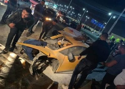 Lamborghini Huracan Splits in Two 0003