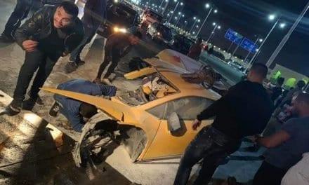 Lamborghini Huracan Splits in Two – Horrific Crash in Egypt