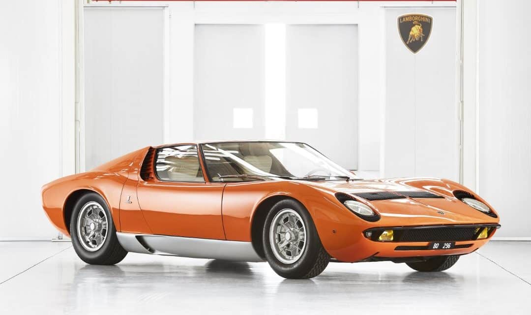 Lamborghini Miura 'Italian Job' Film Star Car Officially Certified
