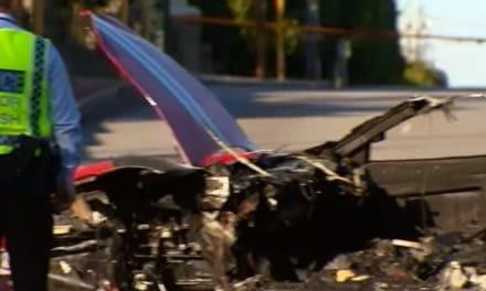 Stolen Ferrari Crash Leaves Passenger Dead