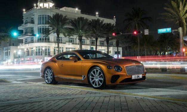 Bentley New Continental GT V8