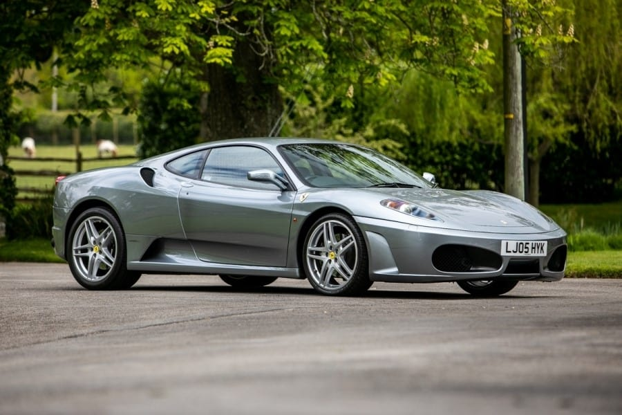 Ex-Gordon Ramsey Ferrari Goes to Auction