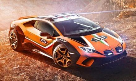 Lamborghini Huracan Sterrato Concept – Off-Road Hypercar
