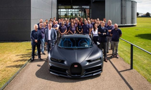 Bugatti Celebrates 200th Production Chiron