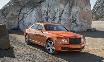 Steve Sutcliffe: Bentley Mulsanne Speed driven