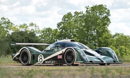 Steve Sutcliffe: 217mph Bentley Speed 8 Le Mans winner driven