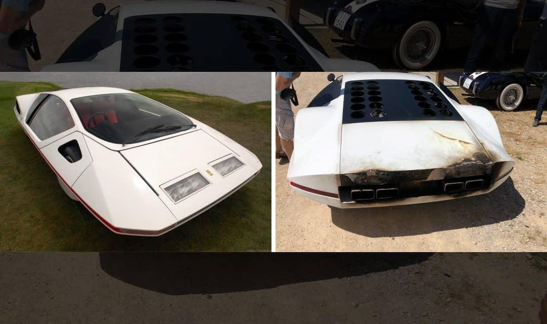 Ferrari 512S Modulo Concept Damaged by Fire