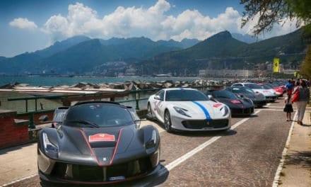 Stunning Ferrari Cavalcade Crosses Italy to Capri