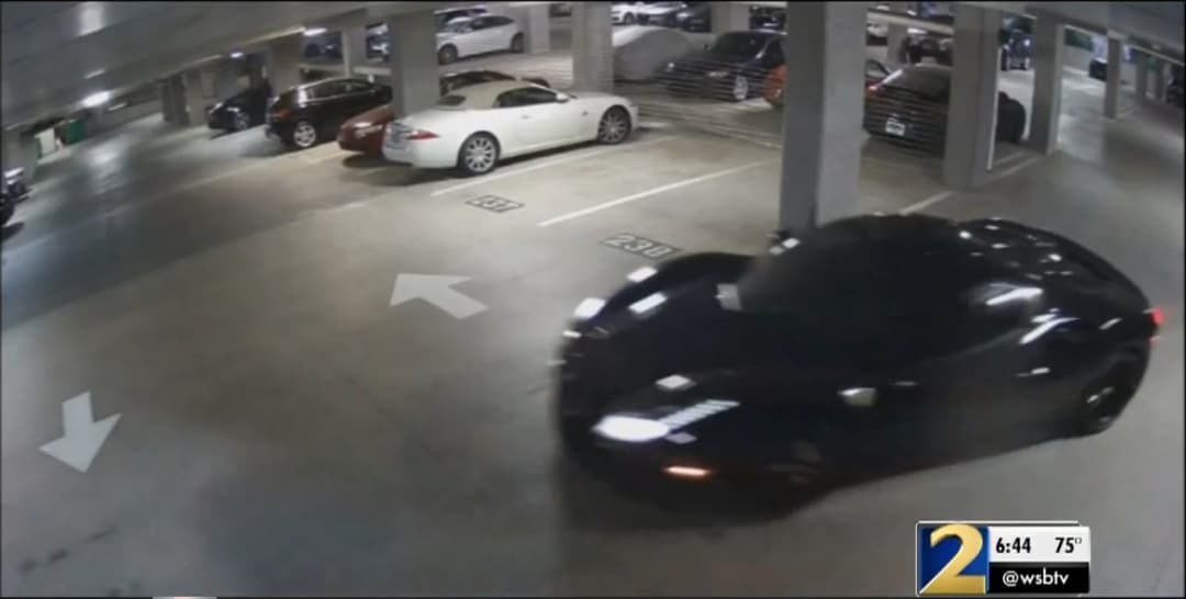 Ferrari Stolen from Luxury Condo Garage