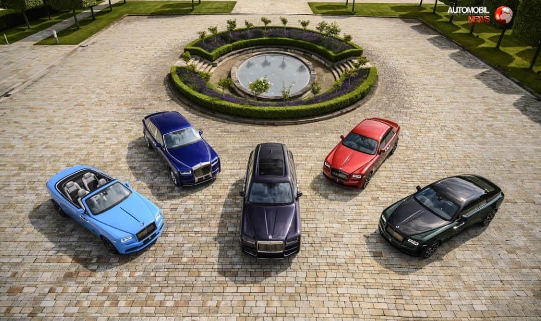 Rolls-Royce Grand Courtyard Recreated at Goodwood