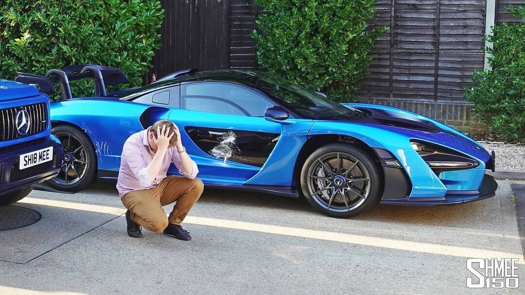 Shmee150 – This is What Happened to My McLaren Senna!