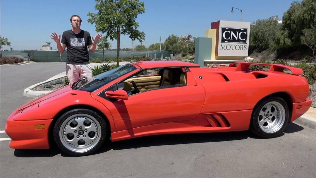 Doug Demuro – Lamborghini Diablo VT Roadster. Crazy 1990s Supercar