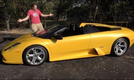 Doug Demuro – Lamborghini Murcielago Roadster. The Last Old-School Lambo
