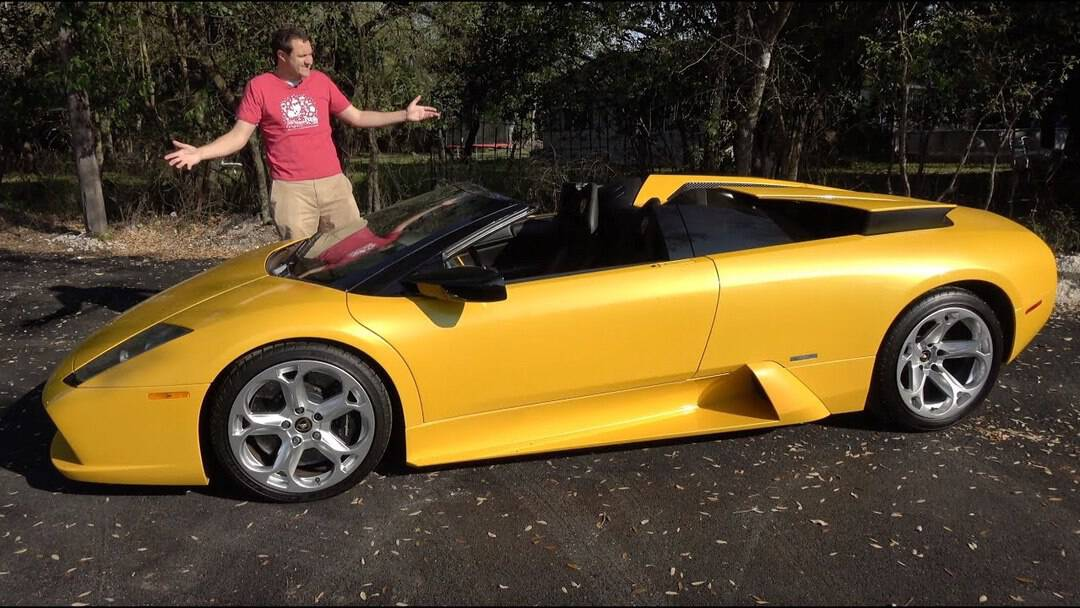 Doug Demuro – Lamborghini Murcielago Roadster. The Last Old-School Lambo