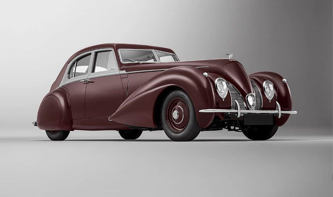 Bentley Recreates Fabulous 1939 Corniche