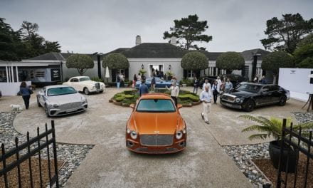 Bentley Centenary Celebrations Continue at Monterey