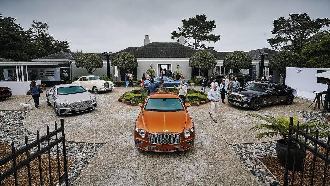 Bentley Centenary Celebrations Continue at Monterey