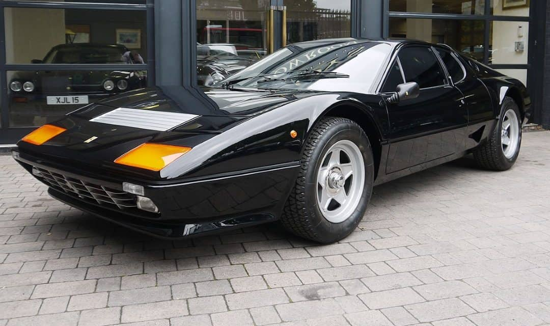 Friday Drool – Ex-Royal Ferrari 512BB with 211 Miles – The Best in the World?