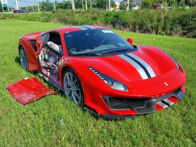 Is This Wrecked Ferrari 488 Pista A Bargain Or A Nightmare Supercartribe Com