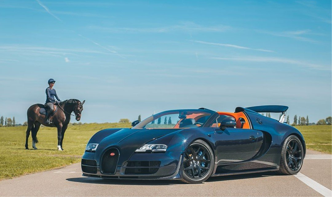 Friday Drool – Very Special One-Off Bugatti Veyron Grand Sport Vitesse Hits the Market