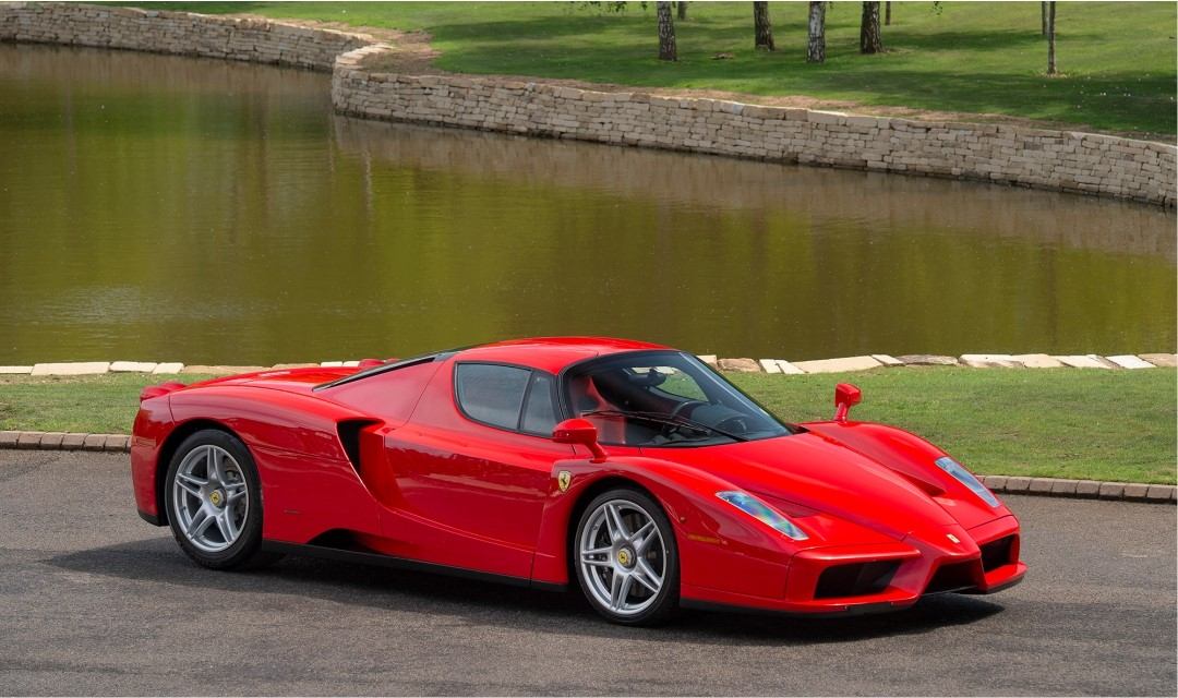 Friday Drool – Very Special Ferrari Enzo Hits the Market