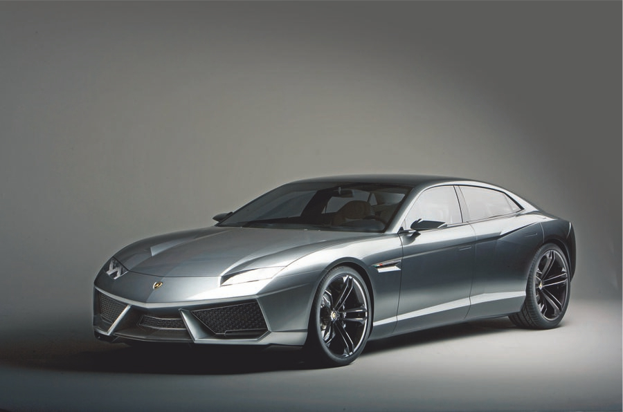 Lamborghini 2+2 GT Could be All-Electric