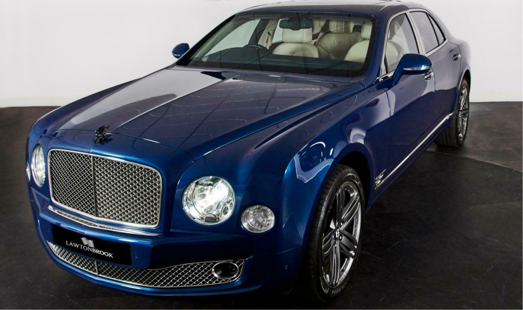 Friday Drool – Very Special Bentley Mulsanne 95 – Only 15 Made