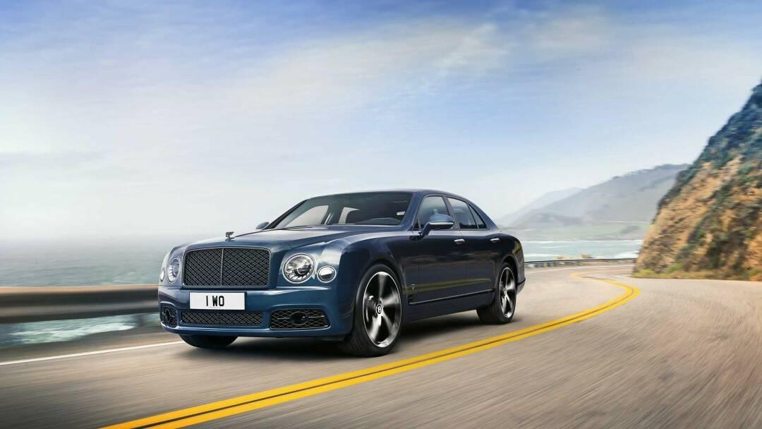 Final Bentley Mulsanne Edition Celebrates Legendary Engine