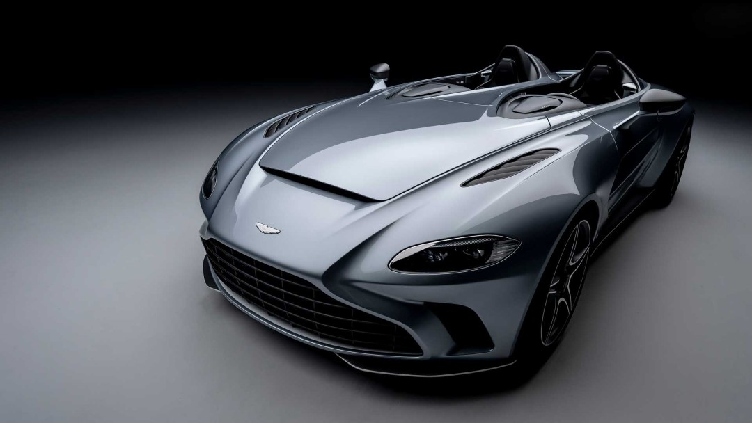 Futuristic Aston Martin V12 Speedster – A Concept Car for the Road