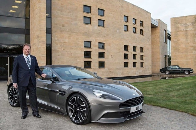 Aston Martin CEO Andy Palmer Steps Down