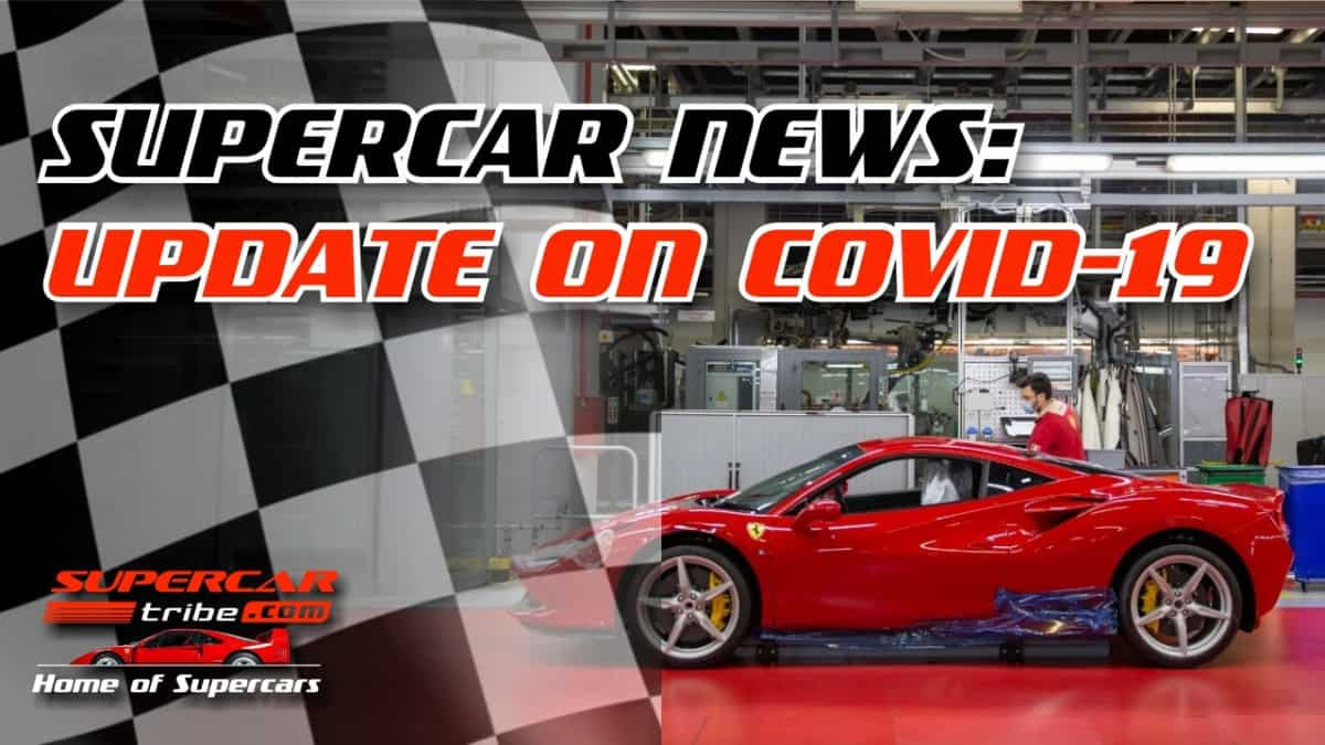 Supercar News Compilation: Covid, Ferrari, Bentley, Aston Martin, & CHEAP Rolls Royce! [Weekly Show]