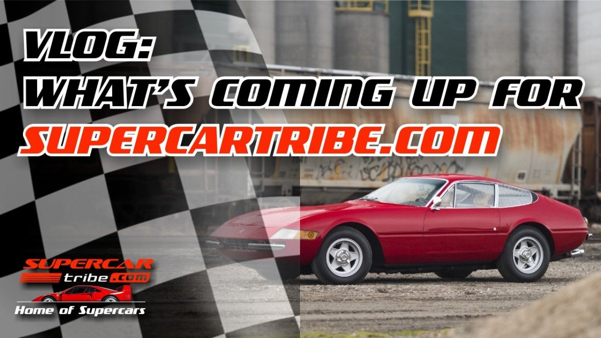 SupercarTribe Update! Whats coming up for SupercarTribe.com