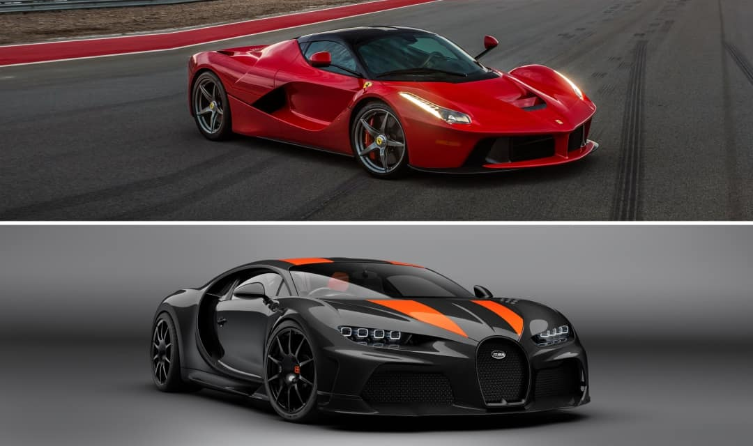 Is a Ferrari faster than a Bugatti? (including facts and figures)