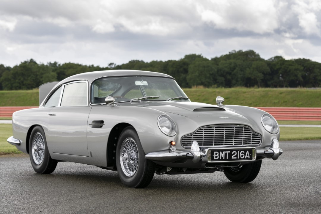 New Aston Martin DB5 Goldfinger Continuation is First of 25