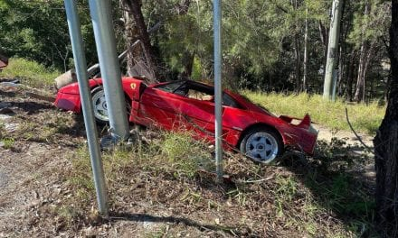 Australian‌ ‌Ferrari‌ ‌F40‌ ‌Crash‌ ‌–‌ ‌Not‌ ‌Insured?‌