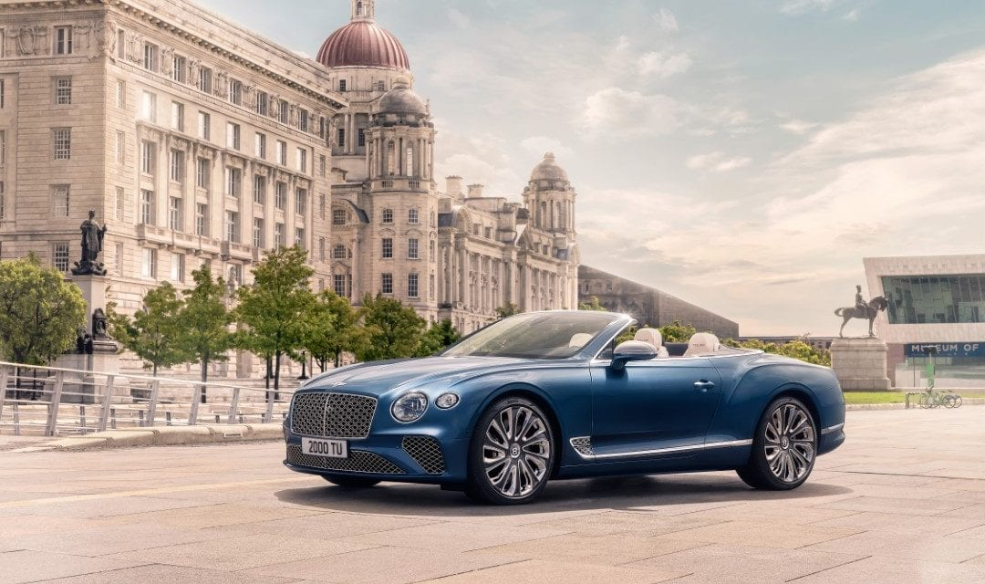 St Tropez Launch for New Bentley Continental GT Mulliner Convertible