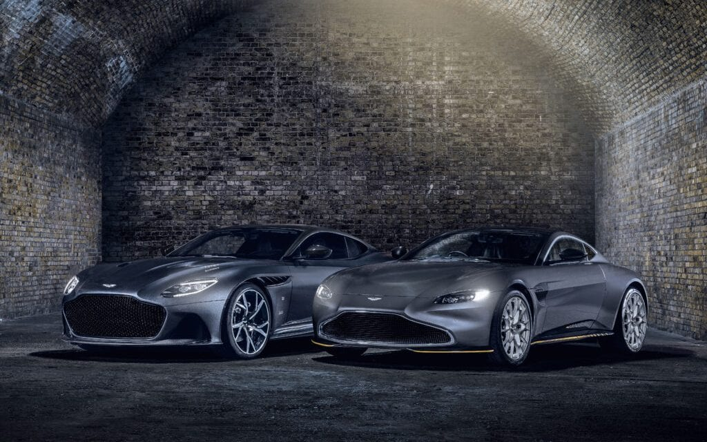 Two Limited Edition Aston Martin '007' Models – No Time To Die